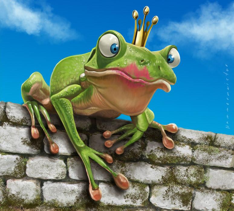 Картинки принца лягушки