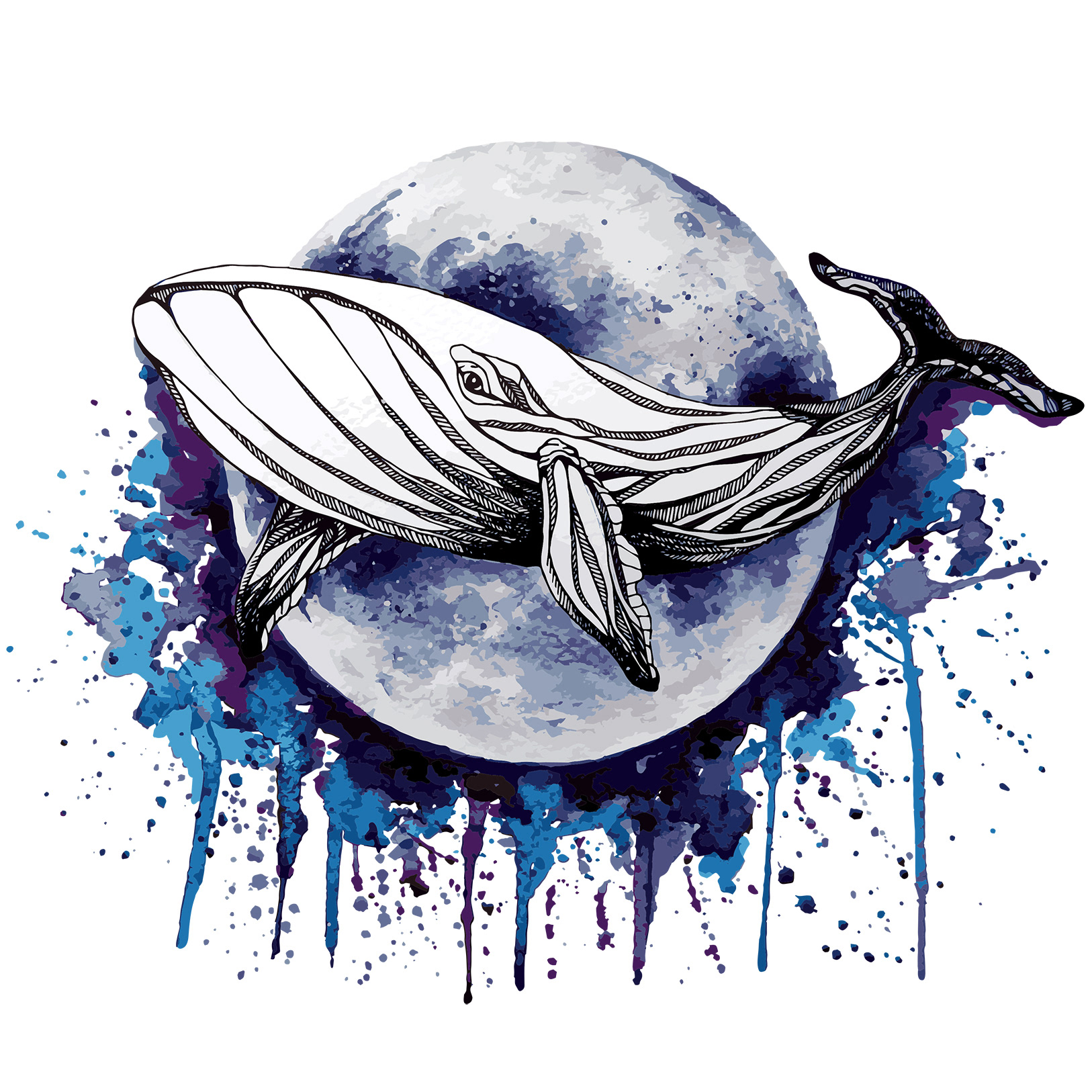 Что означают картинки с китом
